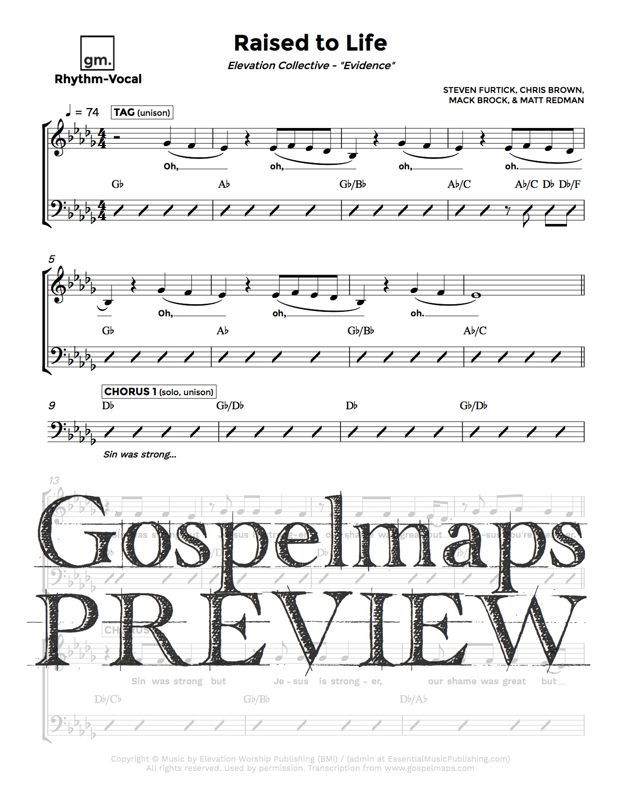 Gospelmaps   Raised to Life   Elevation Collective, Evidence ...